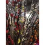 Ветки декоративные Цветы  (упаковка 10 шт)